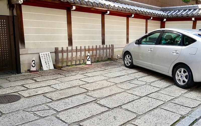 京都 本能寺 駐車場