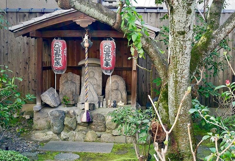 京都 宝蔵寺 天道大日如来の祠