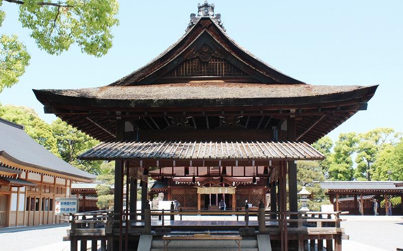 京都 城南宮 拝殿