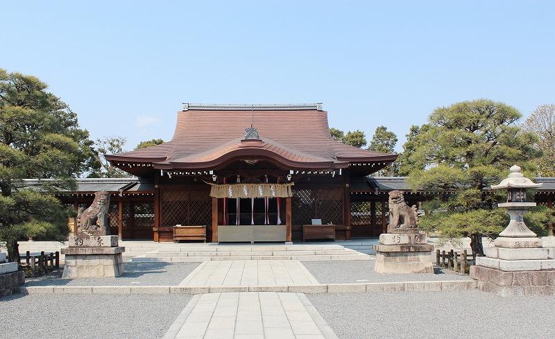 京都 城南宮 本殿