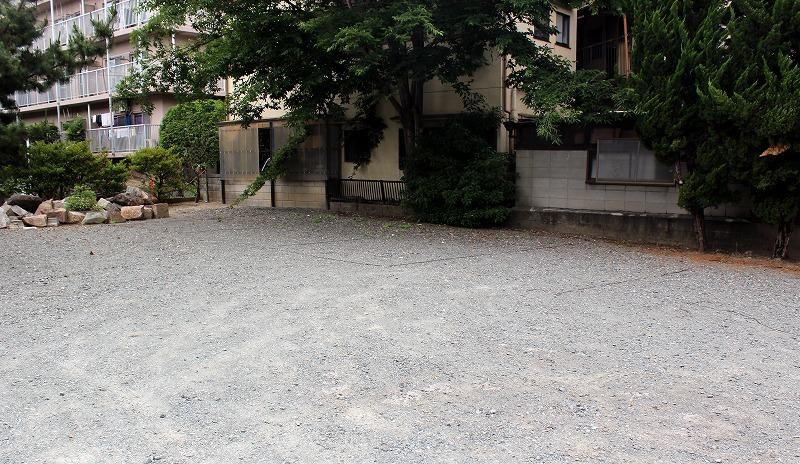 京都 田中神社 駐車場