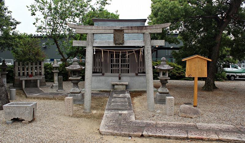 京都 田中神社 北向虫八幡宮