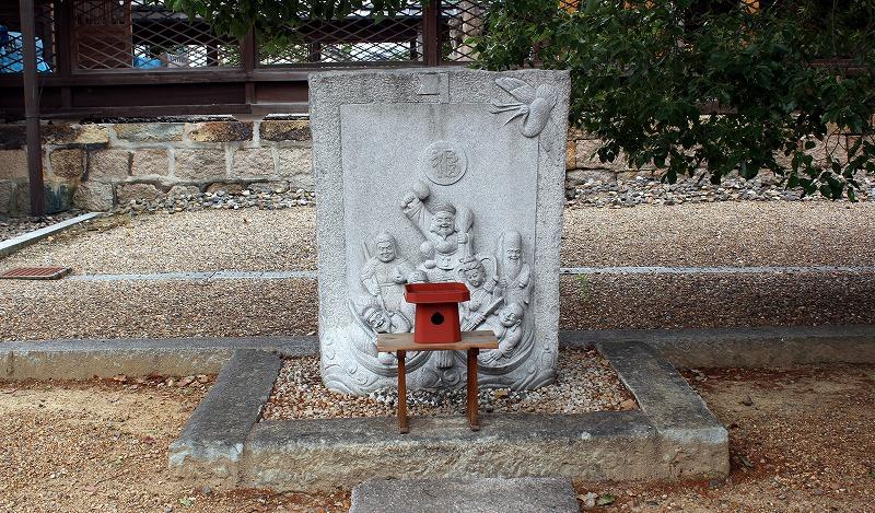 京都 田中神社 七福神像