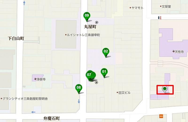 京都 矢田寺 駐車場